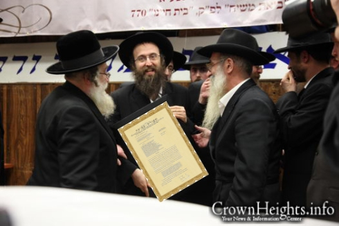 Yosef Yeshaya Braun- certificate of rabbininal ordination- (3)